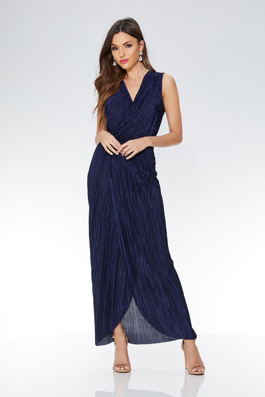 1734323e1163 navy-pleated-wrap-sleeveless-maxi-dress-00100014515